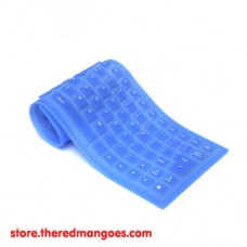 Flexible Keyboard Mini Blue