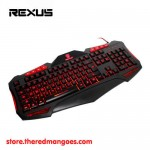 Rexus Battlefire K7M USB Gaming Keyboard 3 Color Backlight