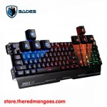Sades Blademail Gaming Keyboard Black