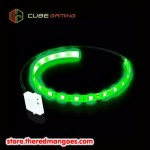 Cube Gaming Led 30cm Green