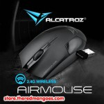Alcatroz Air Mouse Wireless Black