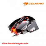Cougar 700M eSports Edition Aluminum Laser Gaming Mouse Red