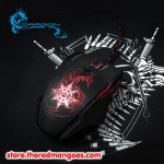 Dragon War Chaos ELE-G7 Blue Sensor Gaming Mouse