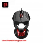 Mad Catz RAT 1 Black Modular Design With 6 Programmable Buttons
