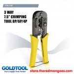 Gold Tool TTK-718 RJ45 Cat5 & RJ 11 Crimping Tool