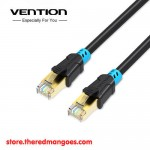 Vention Lan VAP A06 Cable RJ45 Cat6 SSTP Double Shielded 1.5m Black
