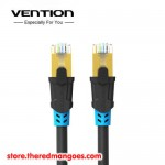 Vention Lan VAP A06 Cable RJ45 Cat6 SSTP Double Shielded 3m Black