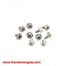 Baut Casing Case PC 8 x 6 mm Hex 6 /32 Silver Murah
