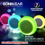 Sonic Gear Pandora Lumo 2 Bluetooth Speaker Gray
