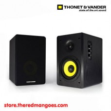 Thonet & Vander Kurbis Wooden Bookshelf Speakers 2.0 Black