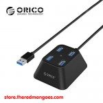 Orico DF4U-U3 4 Port USB 3.0 Hub Black