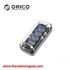 Orico F4U-U3 4 Port USB 3.0 Hub Transparent