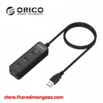 Orico W5PH4-3S 4 Port USB 3.0 1m Black