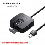 Vention J51 USB Hub 2.0 4 Port And Stand 0.15m