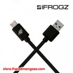 iFrogz Unique Sync USB A to USB Type C 1.8m Black - IFUSAR-BK3