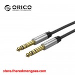 Orico AM-DM1 6.35mm Male To Male Professional Stage Audio Cable 1m