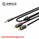 Orico AM-MRC1-20 / AM-MRC1 3.5mm to Dual RCA Ports Audio Cables 2m