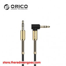 Orico AM-PG1 Right Angle 3.5mm AUX Audio Cable 1m Black