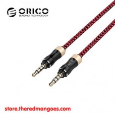 Orico AM-PG2 Professional 3.5mm AUX Audio Cable 1m Red