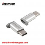 Remax RA-USB1 Micro USB To Type C Connector Silver
