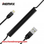Remax RC-117i Radiance Pro Coil Spring Data Cable USB Charging To Lightning