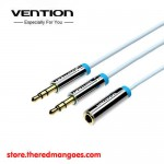 Vention B10 Aux Audio And Mic Splitter 1 Female To 2 Male