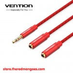 Vention BBRRY / BBR Kabel Aux Audio Splitter 3.5mm Male to 2 Female