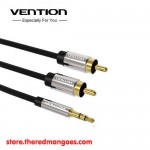 Vention BCFBF / BCF Kabel Aux 3.5mm Male to 2 RCA Male 1m