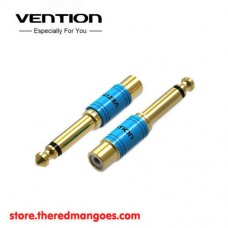 Vention C03 RCA Female To 6.5mm Male Audio Adapter