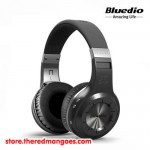 Bluedio H+ Headset Bluetooth With Micro SD Slot and FM Radio Black