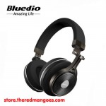 Bluedio T3+ Headset Bluetooth With Micro SD Slot Black