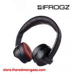 iFrogz Impulse Bluetooth Wireless Headphone With Mic Black