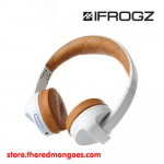 iFrogz Impulse Bluetooth Wireless Headphone With Mic White