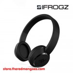 iFrogz Coda Bluetooth Wireless Headphone With Mic Black