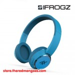 iFrogz Coda Bluetooth Wireless Headphone With Mic Blue