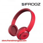 iFrogz Coda Bluetooth Wireless Headphone With Mic Red