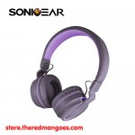 Sonic Gear Airphone V Bluetooth Wireless Headset Purple
