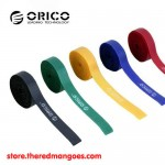 Orico CBT-5S 5pcs Reusable & Dividable Hook and Loop Cable Tie 1m