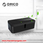 Orico PB1028 Storage Box Organizer For Covering and Hiding Desktop Charger Black