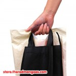 Silicone Shopping Handle Carry Bag Helper Tool Grocery Holder Brown