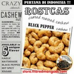 Rostcas Black Pepper Cashew 197gr