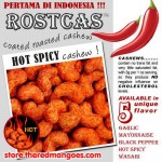 Rostcas Hot Spicy Cashew 197gr
