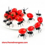 Cute Ant Fruit Fork Toothpick Party Decor 12 pcs