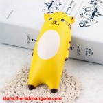 Squishy Cute Animal Soft Hand Pillow Mouse Wrist Rest Tiger Yellow